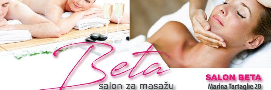 Salon za masažu Beta, kvalitetna masaža na Malešnici, Aromaterapija, Aromatska ili aroma masaža – relax masaža hladno prešanim certificiranim eteričnim uljima, Klasična masaža – pomoć kod problema s kralježnicom, smanjivanje boli, poboljšanje cirkulacije, metabolizma, detoksikacije i antistrenog učinka, Efikasna anticelulitna masaža za rješavanje problema s celulitom, Masaža leđa i cijelog tijela za žene i muškarce, Akcijske cijene masaže u Zagrebu