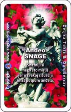Anđeoska karta tjedna: Anđeo snage Photo: Angels centar Zagreb