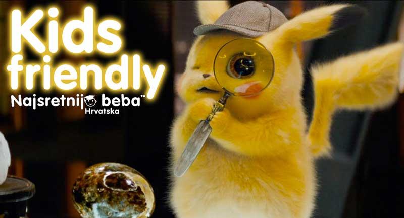 Filmska recenzija: Pokemon detektive Pikachu, animirani, avanturistički,104 min
