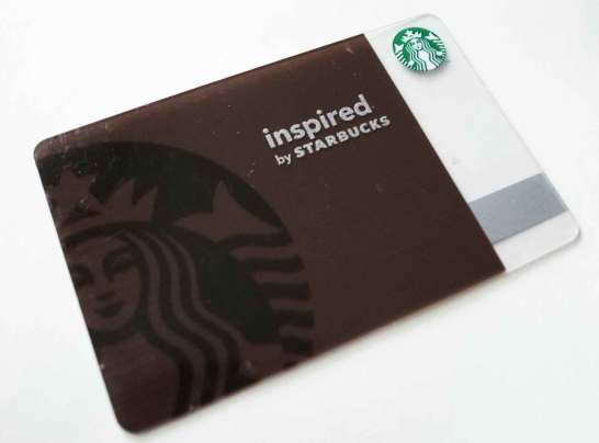 inspired by STARBUCKS COFFEE 限定カード