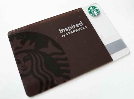 inspired by STARBUCKS COFFEE 限定カード