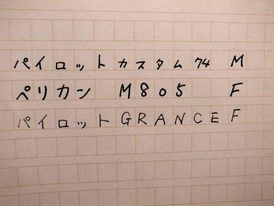 M vs M vs F