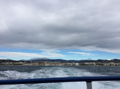 Going to Sainte-Marguerite, the island right off Cannes