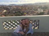 On the roof with a beautiful view of Toulon