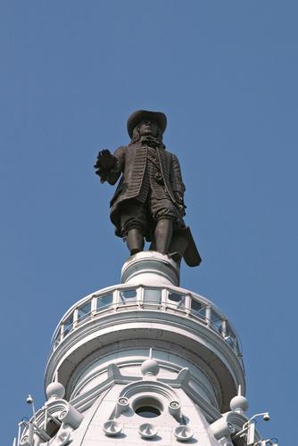 ben on top city hall