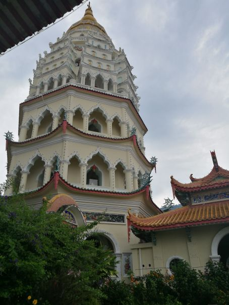 Pagoda you could climb to the top of!