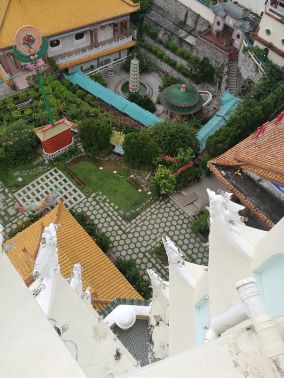 View from pagoda top