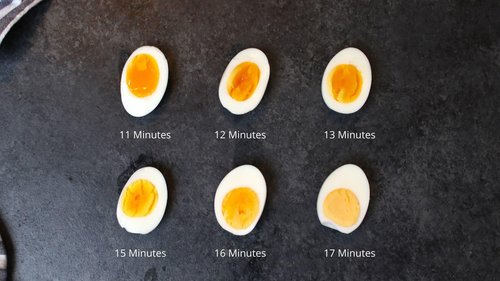 perfect air fryer hard boiled eggs recipe
