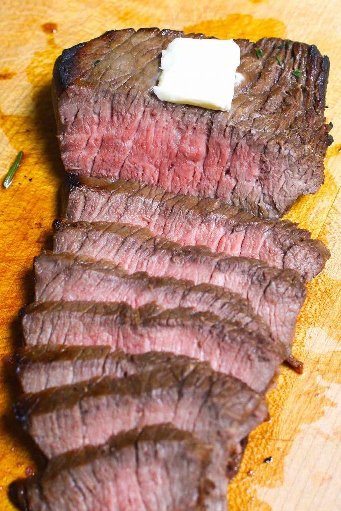 Sous Vide London Broil (Top Round Steak)