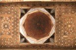 Classic Islamic roof design in wood and inlay