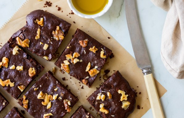 Olive Oil Chocolate Brownies A