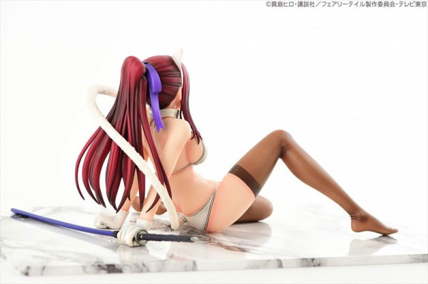 Erza Scarlet White Cat Gravure Style - FAIRY TAIL [1/6 Complete Figure]
