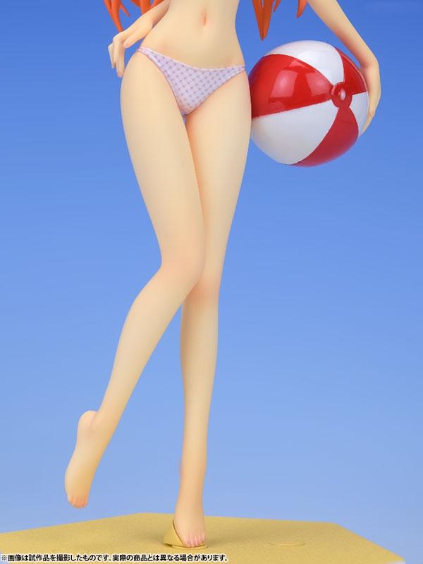 Asuka Langley Soryu Beach Queens Complete Figure Ver. 1/10 / Аска Лэнгли Сорью аниме фигурка Евангелион