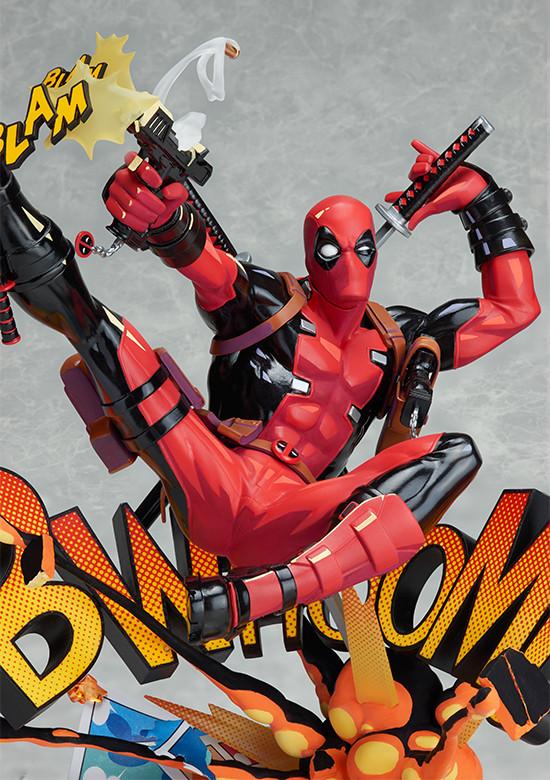 Deadpool: Breaking the Fourth Wall - Complete figure / Дэдпул - Разрушение четвёртой стены фигурка