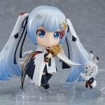 Nendoroid 850. Snow Miku: Crane Priestess Ver