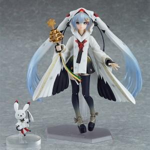 Figma EX-045. Snow Miku: Crane Priestess ver.