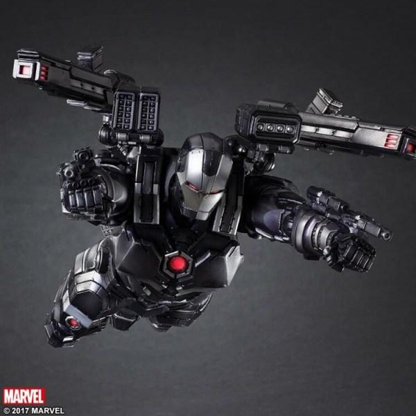 Marvel Universe Variant IronMan War Machine ver. [PLAY ARTS KAI]