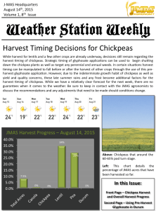 Weather Station Weekly - August 14th, 2015