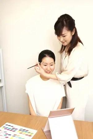 CA就活生メイクレッスン・顔骨格デザイン分析(R)