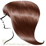 ブルべ髪色ライトブラウン