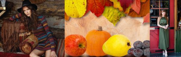 パーソナルカラー秋オータムの印象
