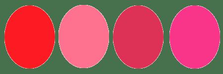 パーソナルカラーウィンターのチーク