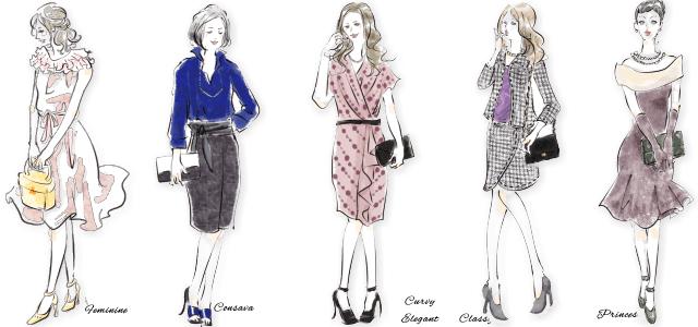 サマーのファッション