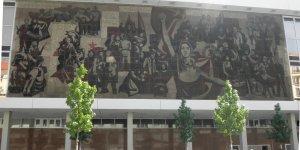 Dresden workers' mural