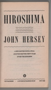 Hiroshima title page