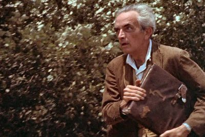 Fritz Leiber as Dr. Arthur Waterman in Equinox: Journey into the Supernatural (1965 or 1966). Will Hart, (CC BY 2.0)