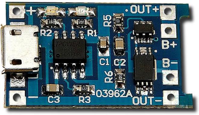 Módulo TP4056, con protección
