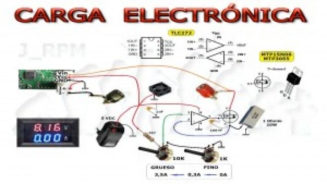 Esquema: Carga electrónica