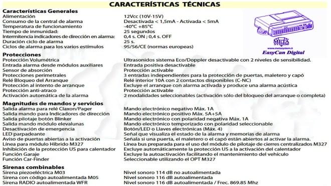 Características EasyCan