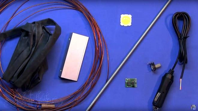 Material para el Flexo LED