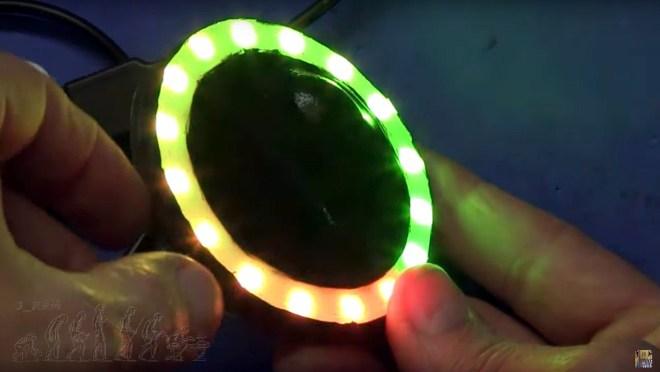Pruebas de la baliza RGB