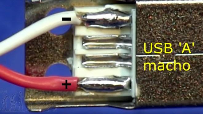 Conexión: USB tipo A