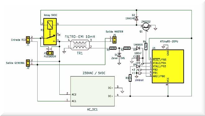 Esquema: Interruptor inteligente