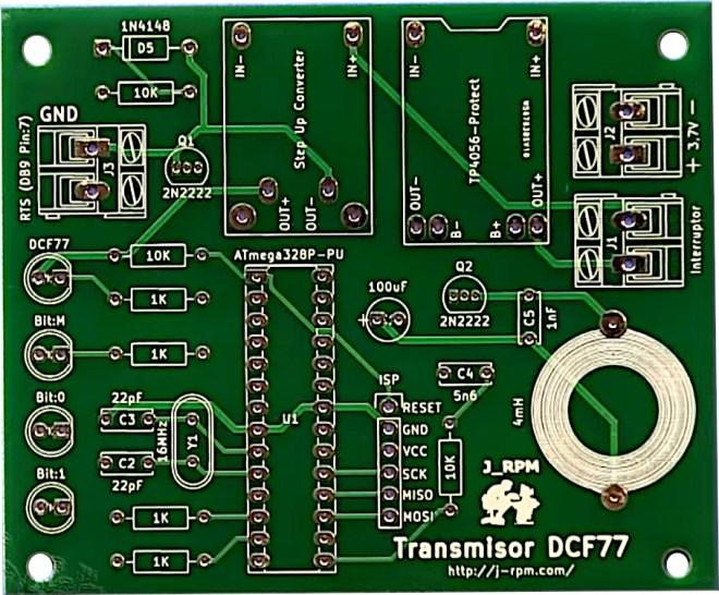 PCB: TX_DCF77