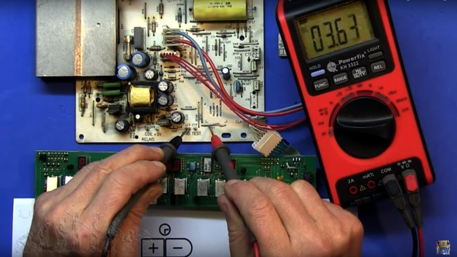 Medida del control de encendido