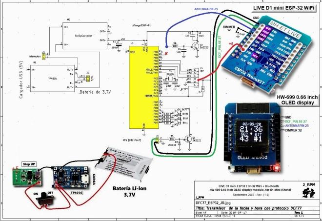 Esquema: Transmisor DCF77