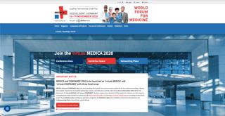 有名な医療見本市MEDICAも今年はバーチャル開催を決定した