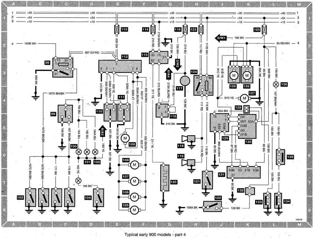 medium resolution of saab 900 fuse diagram schema diagram database saab 900 fuse box diagram saab 900 fuse box
