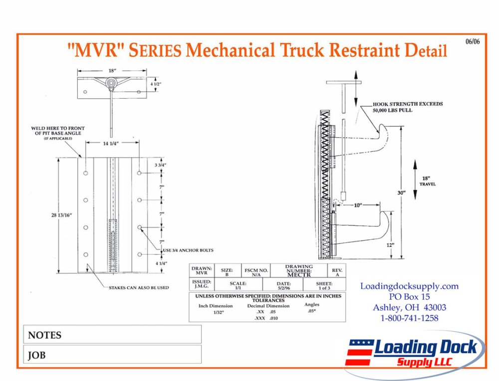 medium resolution of mvr mechanical truck restraint diagram pdf