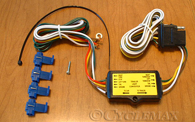 Light Wiring Diagram For Trailers 5 To 4 Pin Trailer Harness Converter