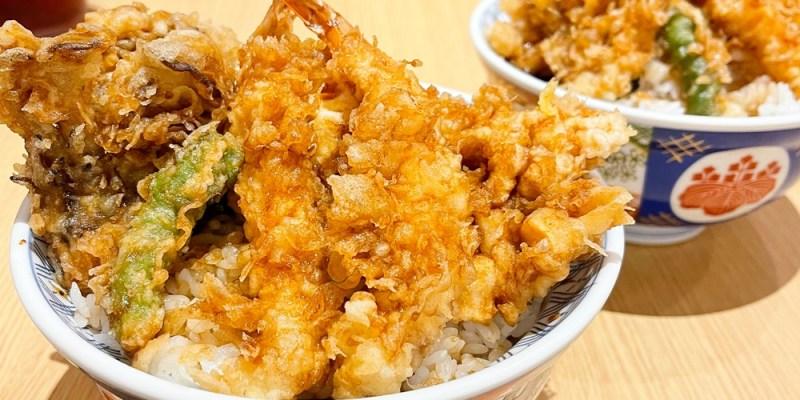 台南美食︱獨門醬汁超級開胃 台南第一間在南紡A2館 天丼專賣金子半之助