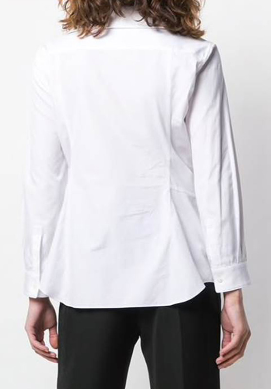 TIE FRONT KNOT SHIRT