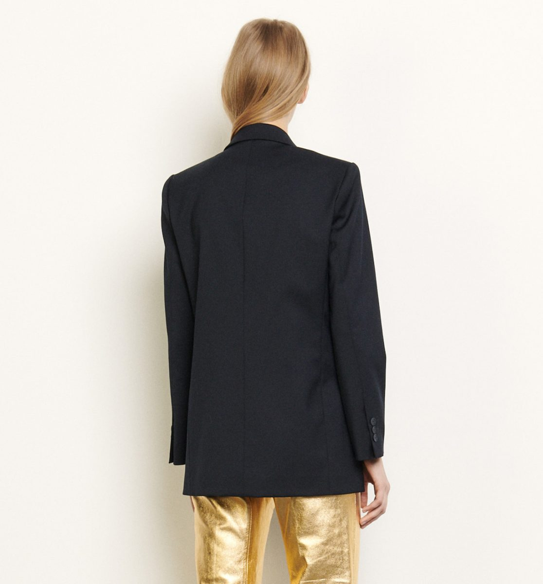 TAILORED JACKET WITH JEWELLED PATCHES