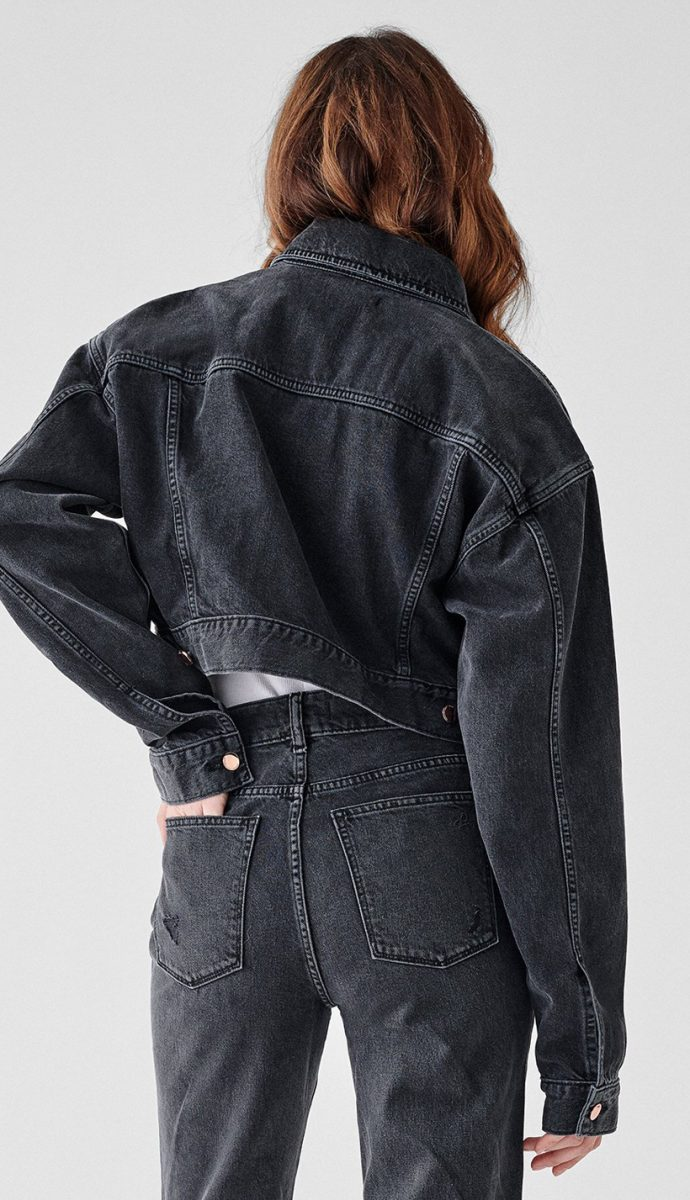 ANNIE CROPPED OVERSIZED JACKET