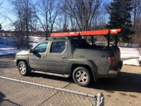 Honda Ridgeline Black Roof Rack