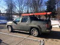Honda Ridgeline Black Roof Rack